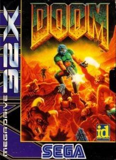 Jaquette de Doom (original) Megadrive 32X
