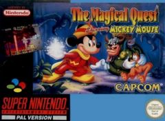 Jaquette de The Magical Quest Starring Mickey Mouse Super NES
