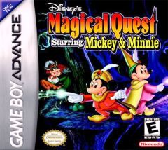 Jaquette de The Magical Quest Starring Mickey Mouse Game Boy Advance