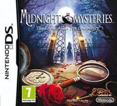 Jaquette de Midnight Mysteries : The Edgar Allan Poe Conspiracy DS