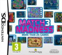 Jaquette de Match 3 Madness DS
