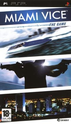 Jaquette de Miami Vice : The Game PSP