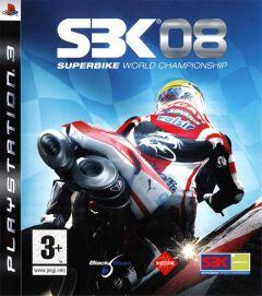 Jaquette de SBK 08 : Superbike World Championship PlayStation 3