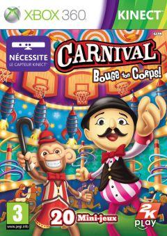 Jaquette de Carnival Games : Bouge ton Corps Xbox 360