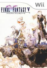 Jaquette de Final Fantasy V Wii