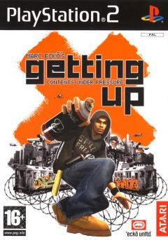 Jaquette de Marc Ecko's Getting Up : Contents Under Pressure PlayStation 2