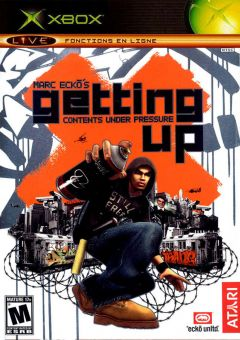 Jaquette de Marc Ecko's Getting Up : Contents Under Pressure Xbox
