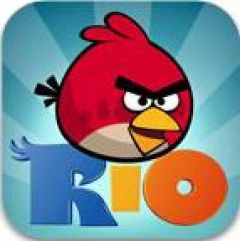 Jaquette de Angry Birds Rio iPhone, iPod Touch