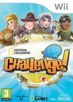 Jaquette de National Geographic Challenge ! Wii