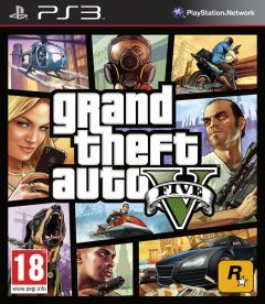 Jaquette de Grand Theft Auto V PlayStation 3
