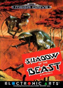 Jaquette de Shadow of the Beast (Original) Megadrive