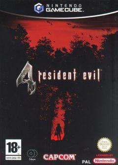 Jaquette de Resident Evil 4 GameCube