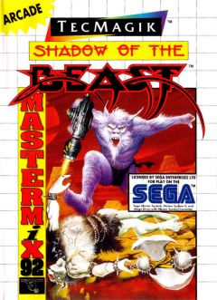 Jaquette de Shadow of the Beast (Original) Master System