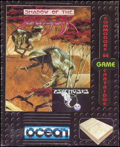 Jaquette de Shadow of the Beast (Original) Commodore 64