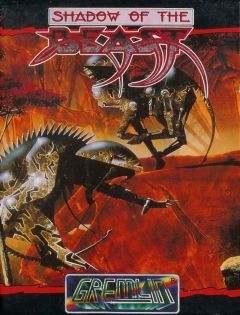 Jaquette de Shadow of the Beast (Original) Amstrad CPC