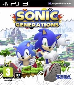 Jaquette de Sonic Generations PlayStation 3