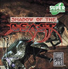Jaquette de Shadow of the Beast (Original) PC Engine