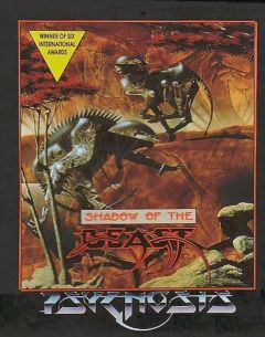 Jaquette de Shadow of the Beast (Original) Amiga