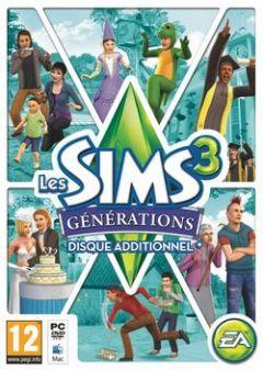 Jaquette de Les Sims 3 : Générations Mac