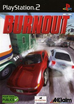 Jaquette de Burnout PlayStation 2