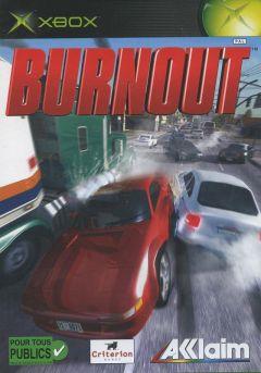 Jaquette de Burnout Xbox