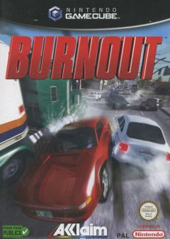 Jaquette de Burnout GameCube