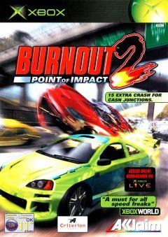 Jaquette de Burnout 2 : Point of Impact Xbox