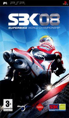 Jaquette de SBK 08 : Superbike World Championship PSP