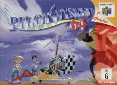 Jaquette de PilotWings 64 Nintendo 64