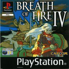 Jaquette de Breath of Fire IV PlayStation