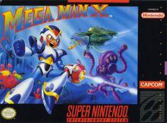Jaquette de Mega Man X Super NES