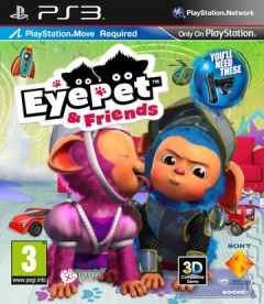 Jaquette de EyePet & Friends PlayStation 3