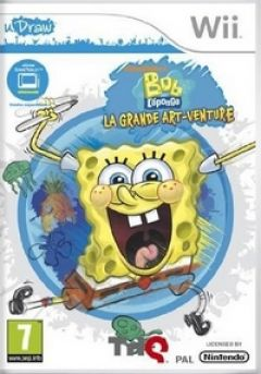 Jaquette de Bob L'eponge : La Grande Art'venture Wii
