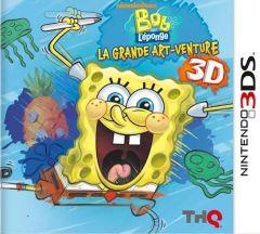 Jaquette de Bob L'eponge : La Grande Art'venture Nintendo 3DS
