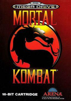 Jaquette de Mortal Kombat (Original) Mega Drive