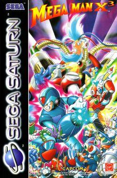 Jaquette de Mega Man X3 Sega Saturn