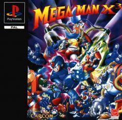Jaquette de Mega Man X3 PlayStation