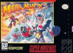 Jaquette de Mega Man X3 Super NES