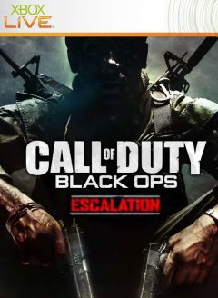 Jaquette de Call of Duty : Black Ops - Escalation Xbox 360
