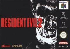 Jaquette de Resident Evil 2 Nintendo 64