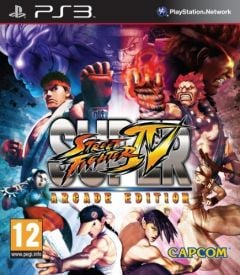 Jaquette de Super Street Fighter IV Arcade Edition PlayStation 3