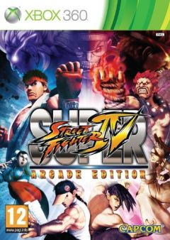 Jaquette de Super Street Fighter IV Arcade Edition Xbox 360