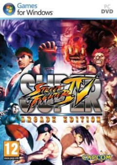 Jaquette de Super Street Fighter IV Arcade Edition PC