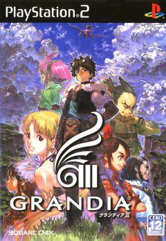 Jaquette de Grandia III PlayStation 2