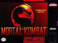 Jaquette de Mortal Kombat (Original) Super NES