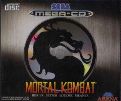 Jaquette de Mortal Kombat (Original) MegaCD