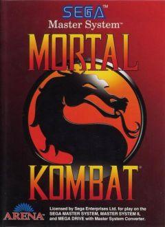 Jaquette de Mortal Kombat (Original) Master System