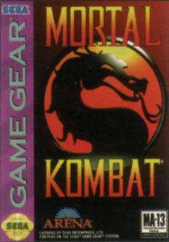 Jaquette de Mortal Kombat (Original) GameGear