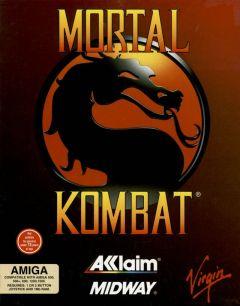 Jaquette de Mortal Kombat (Original) Amiga