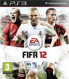 Jaquette de FIFA 12 PlayStation 3